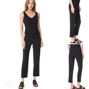NWT Adam Lippes Cigarette Cropped Trouser Pant